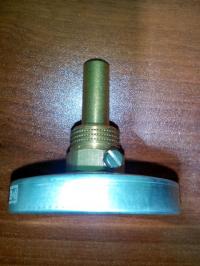 Термометр биметаллический МЕТЕР ТБ-100-1 120°С 40 мм 2,5 G1/2