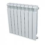 JIF 8080  НФ радиатор  алюминий 580х80х80      8 секц.