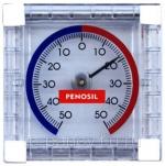 Penosil, термометр с биметаллической пружиной