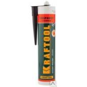 """Герметик KRAFTOOL KRAFTFLEX FR150 силикатный огнеупорный """"+1500 С"""", жаростойкий, черный, 300мл"""