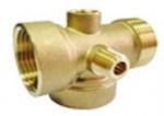 JIF 340 BR соед 5-ти выводной д/насосов 70 мм лат 1Гx1Гx1Шx1/4Гх1/4Ш