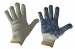 Перчатки  ПВХ точка, 7,5-й класс вязки 5-ти нитка