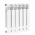 JIF 8098 радиатор  алюминий 580х80х100   6 секц