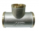 """JIF 248 NB тройник под манометр  1/2""""-1/4""""-1/2"""" г/г/ш"""