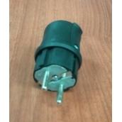 Вилка кабельная каучуковая 220в 16А с з/к BEMIS Econom