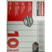 Алюминиевый радиатор 10 секций для отопления 16 м²