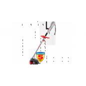 Коса ЗУБР электрическая, с верх двигателем, ш/с фреза 230мм, леска 380мм, леска 5*2мм, полуавтомат, 1200Вт, 7500об/мин