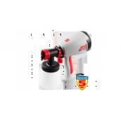 Краскопульт ЗУБР электрический,краскоперенос 280 мл/мин, вязкость краски 40 DIN,HVLP,0,8л,300Вт