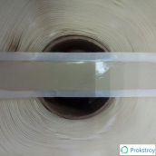 Самоклеящаяся герметизирующая бутилкаучуковая лента Липлент О 15х2