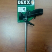 Пистолет для монтажной пены DEXX, L 183 мм