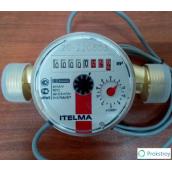 Счётчик воды ITELMA WFW24 E130 импульсный для горячей воды