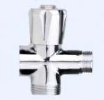 JIF 258 вентиль 3-прох 3/4 с удлин