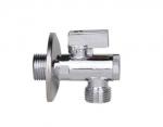 JIF 262  кран шаровой угл+фильтр 1/2ш-3/4ш
