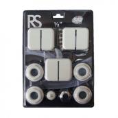 """Монтажный комплект Sira RS 1/2"""" с регулируемыми кронштейнами (3 шт)"""