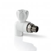 Кран PP-R шаровый для радиатора угловой 25х3/4