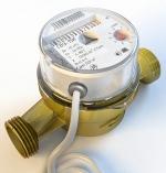 Метер водосчётчик универсальный СВУ-15 (НЕВОД) с имп. выходом. Без комплекта присоединения, ОПТ