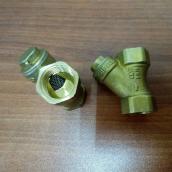 Фильтр осадочный косой ДУ15, латунь, Jif eco 314, опт