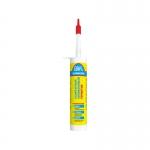 РЕМОНТ НА 100% (1КОР-24ШТ) S Герметик силиконовый санитарный, белый, 260 ml