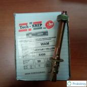 Стальной клиновой анкер 8х80 мм, коробка 50 шт