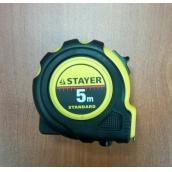 Рулетка измерительная STAYER 34025-05, STANDARD, 5 М Х 19 ММ
