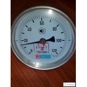 Термометр биметаллический МЕТЕР ТБ-080-1 120°С 60 мм 2,5 G1/2