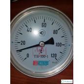 Термометр биметаллический МЕТЕР ТБ-100-1 120°С 60 мм 2,5 G1/2