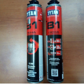 Огнеупорная пена Tytan B1 Professional