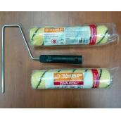 """Валик малярный ЗУБР """"ОПТИМА -ДУАЛОН"""", все виды ЛКМ, идеален для ЛКМ на масляной основе, для ровных поверхностей, полиэстр, ворс 12 мм, бюгель 6 мм, 40х240мм"""